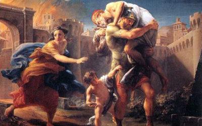 Il mito di Enea, l'eroe che viaggio lungo il Mediterraneo
